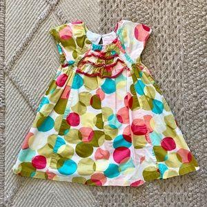 Genuine kids osh kosh polka dot dress size 4 girls